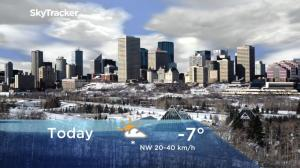 Edmonton early morning weather forecast: Wednesday, December 5, 2018